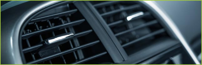 Air Conditioner vents in vehicle